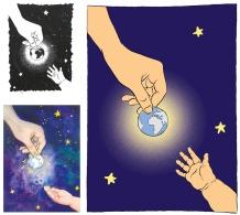 flo kanban illustration jeunesse graphiste affiche developpement durable