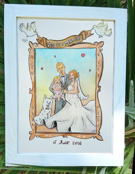 flo kanban illustration jeunesse cadeau mariage famille