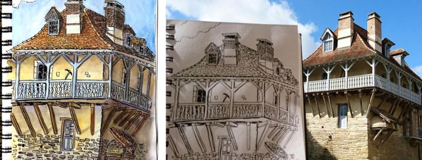 flo kanban illustration jeunesse carnet croquis Salies du Béarn