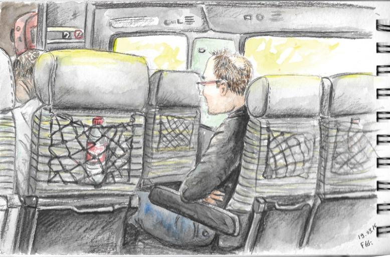 flo kanban illustration jeunesse carnet croquis train voyage