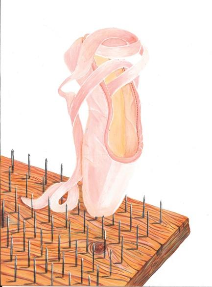 flo kanban illustration jeunesse chausson de danse balerine
