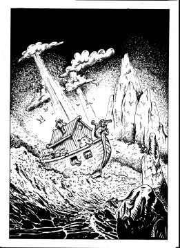 flo kanban illustration jeunesse encrage arche de Noé