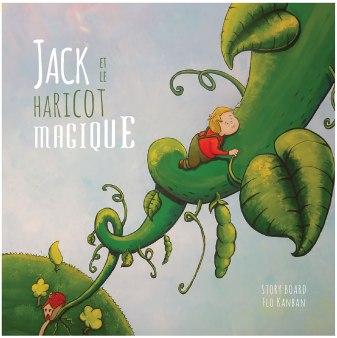 flo kanban illustration jeunesse Jack et le haricot magique couverture livre