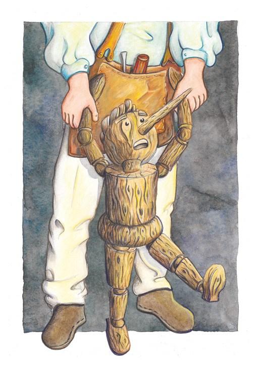 flo kanban illustration jeunesse Pinocchio