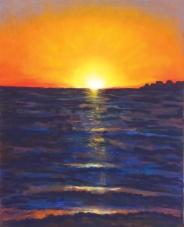 flo kanban illustration jeunesse coucher de soleil pastels secs