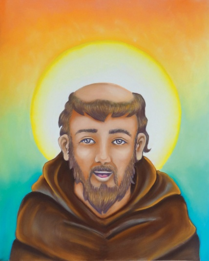 flo kanban illustration jeunesse religieuse Saint François