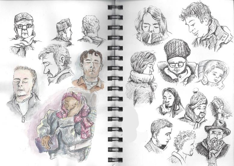 flo kanban illustration jeunesse les gens du métro
