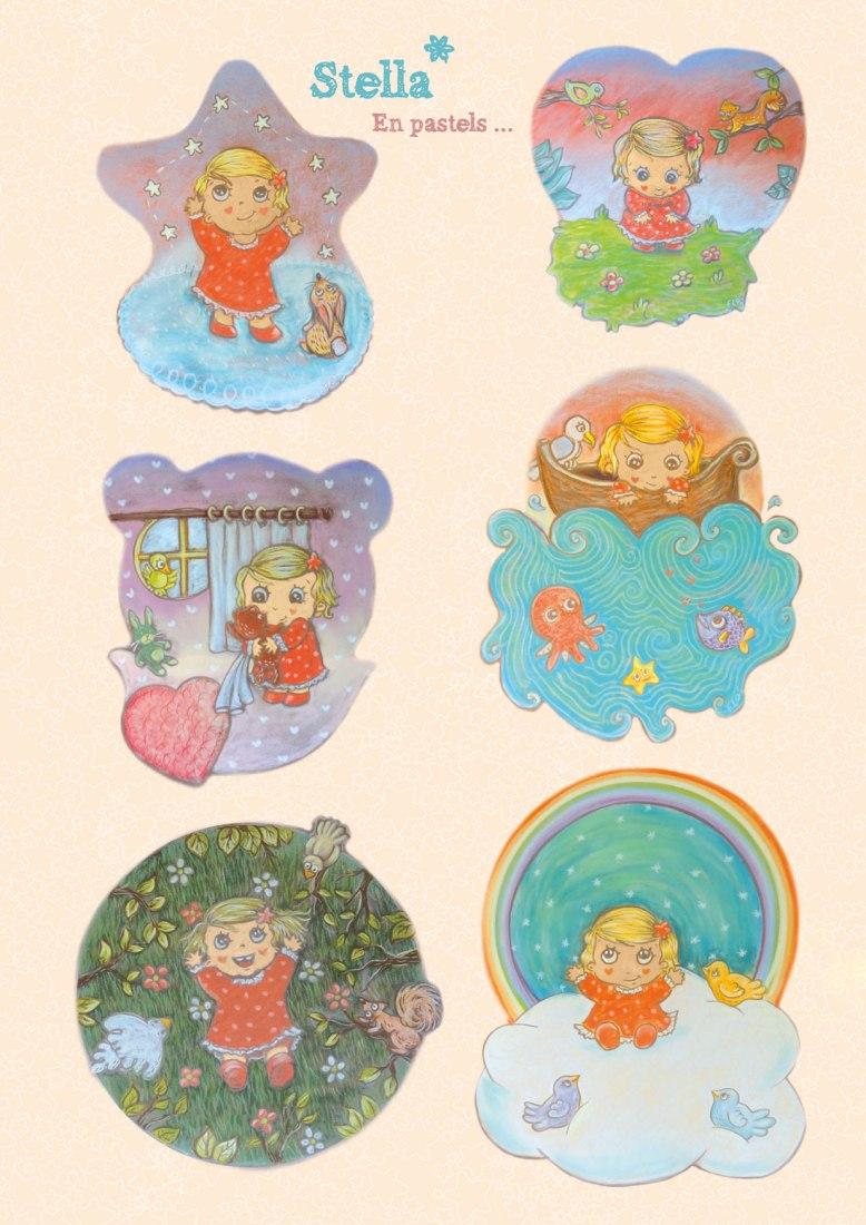 flo kanban illustration jeunesse personnage charadesign Stella