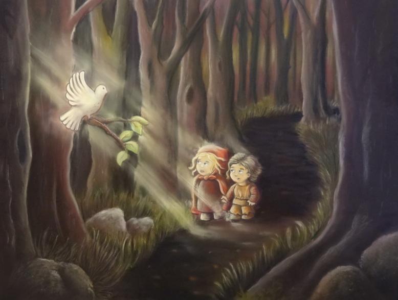 Flo kanban illustration jeunesse Conte Hansel et Gretel