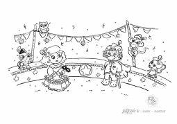 flo kanban illustration jeunesse personnage Stella Inktober