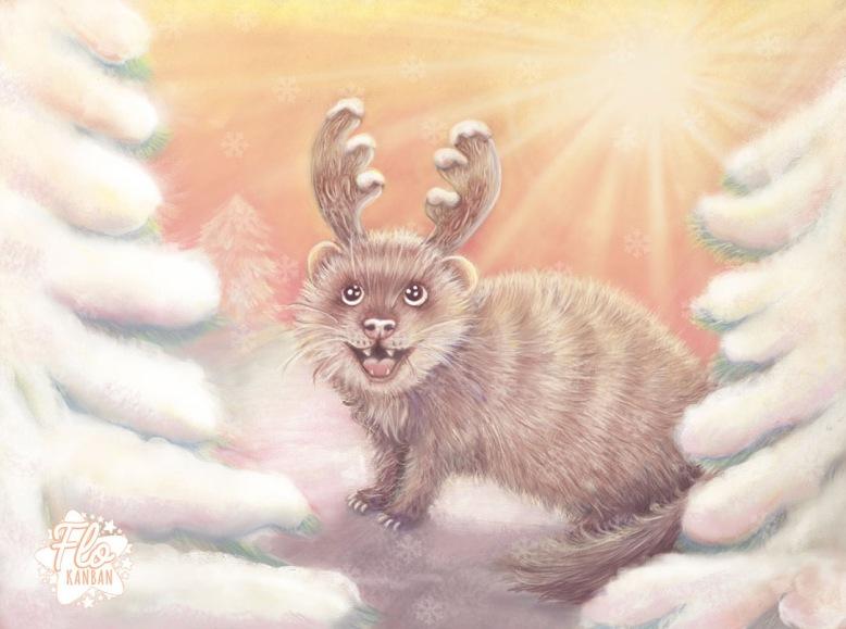 Flo kanban illustration jeunesse Furet renne