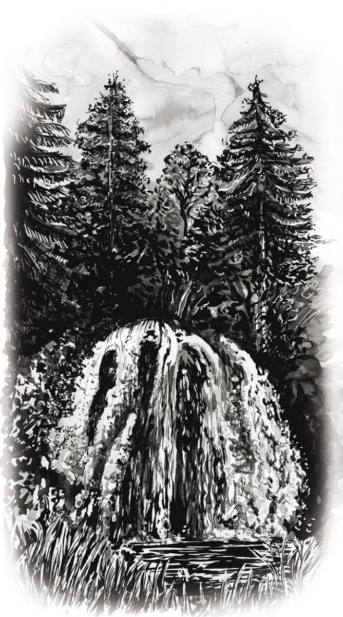 Flo kanban illustration jeunesse paysage cascade