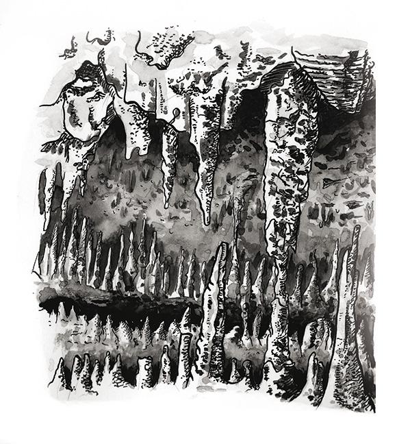 Flo kanban illustration jeunesse grottes