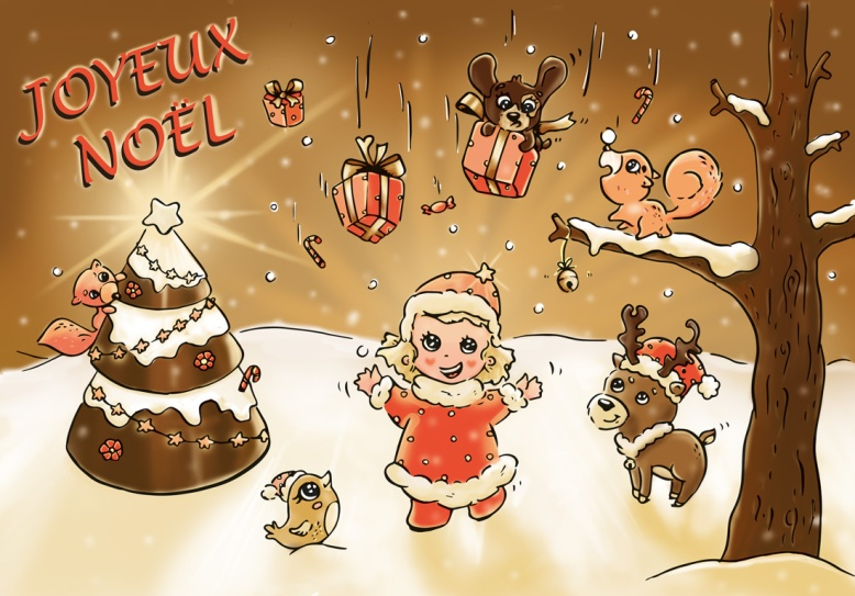 Flo kanban illustration jeunesse personnage Stella Noël
