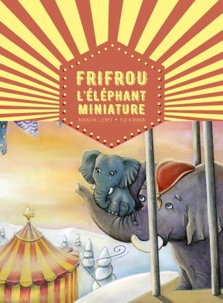 Flo kanban illustration jeunesse éléphant cirque