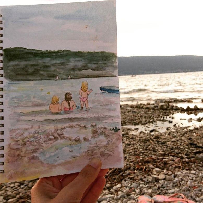 Flo kanban illustration jeunesse Lac Annecy