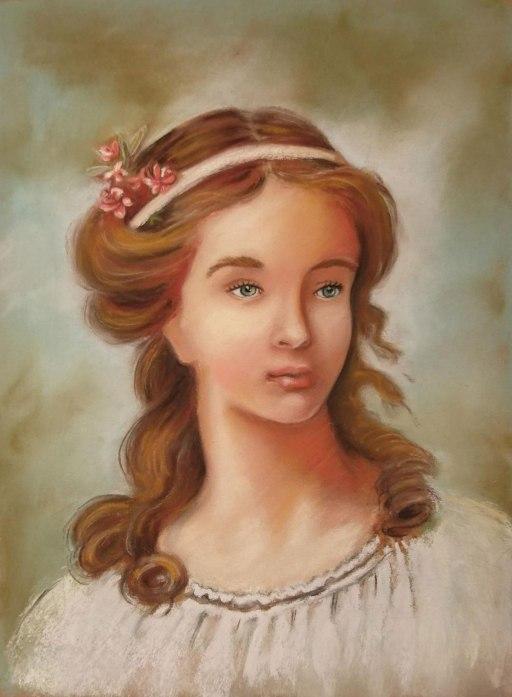 Flo_Kanban_illustratrice_Tableau-Portrait_Pastels_VigeeLebrun